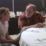 Jade Coulter presents Kihei Elementary School garden lunch for Hawai'i Governor Neil Abercrombie