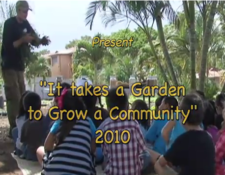 Video: It Takes A Garden to Grow a Community