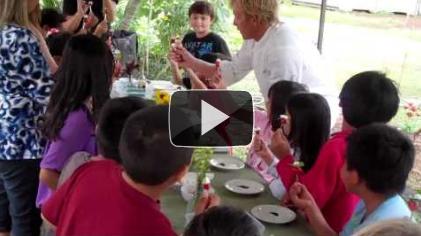 Kihei Elementary School Garden Pizza Day Video