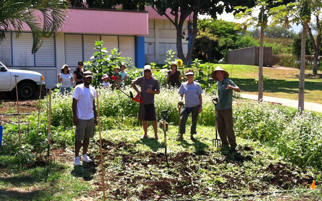 School Garden Care & Learning Days Nov. 12 & 17