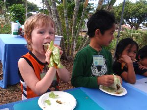 Kihei Elementary School harvest party 2012 grow some good