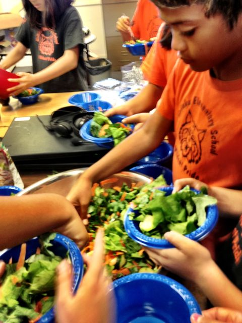 Wailuku Elementary Students Grow Some Good