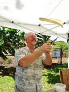 Chef Eric Mitchell, The Outrigger Pizza Oven