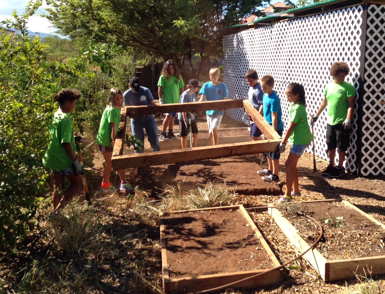 Kihei Charter Middle School Grows Some Good STEAM Projects