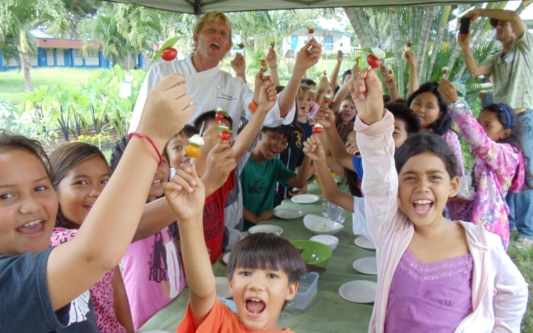 Hawaii Legislators Support Farm to School Programs